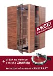 Infrasauna Hanscraft Swiss Cedr