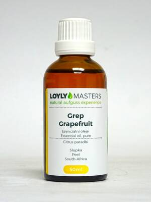100% EO LOYLY MASTERS Grep / Grapefruit (50ml)