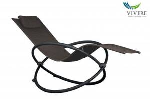 Vivere - Orbital Lounger Single - Sienna